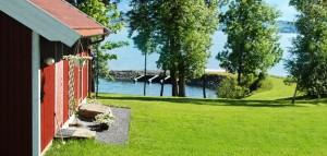 Hoel Gård har også flere leiligheter samt egen båthavn.
